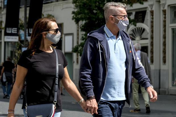 En Belgique, plus de 85% des nouveaux contaminés ont moins de 60 ans