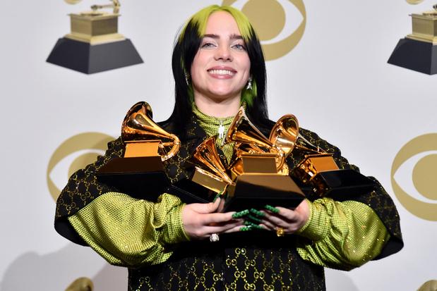 """Un deuxième album annoncé pour la très """"Grammysée"""" Billie Eilish"""