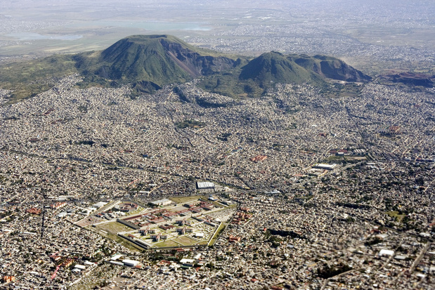 Découverte d'un palais Aztèque à Mexico, ancienne demeure d'Hernan Cortes