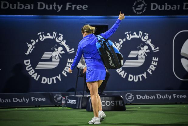 """Clijsters satisfaite de son grand retour et """"contente d'avoir pu suivre le rythme"""""""