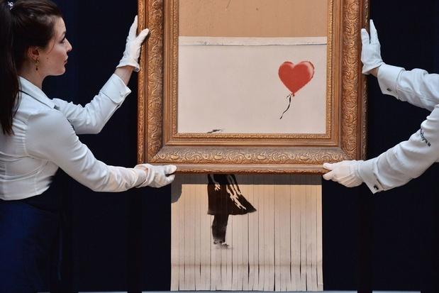 Deux oeuvres de Banksy exposées à Chaudfontaine