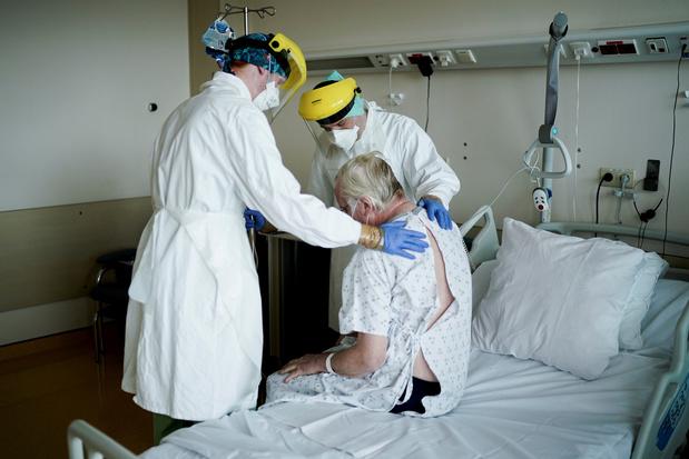 Environ 600 soignants hospitalisés suite au Covid-19 depuis mi-mars en Belgique