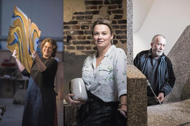 Granito, vitraux ou céramique: trois artisans de haut vol racontent l'art du sur-mesure