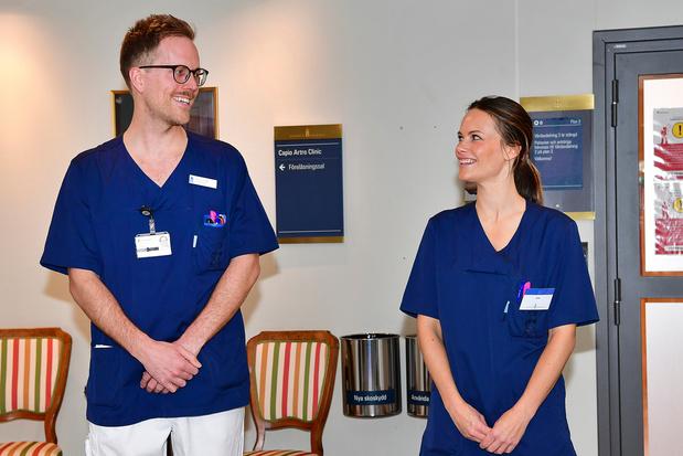 En Suède, la princesse Sofia rejoint les rangs des soignants contre le coronavirus