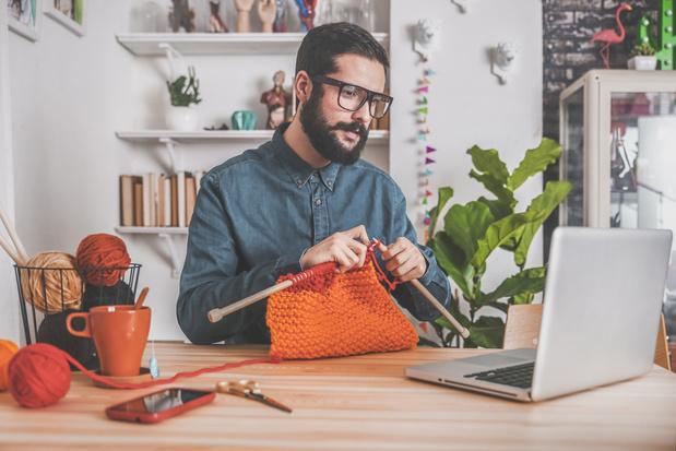 """Hommes passionnés de tricot : """"C'est comme du yoga"""""""