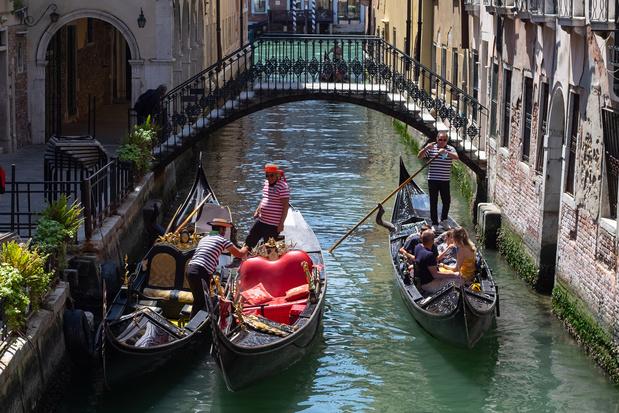 Venise prend des mesures pour ses gondoliers, confrontés à des touristes en surpoids
