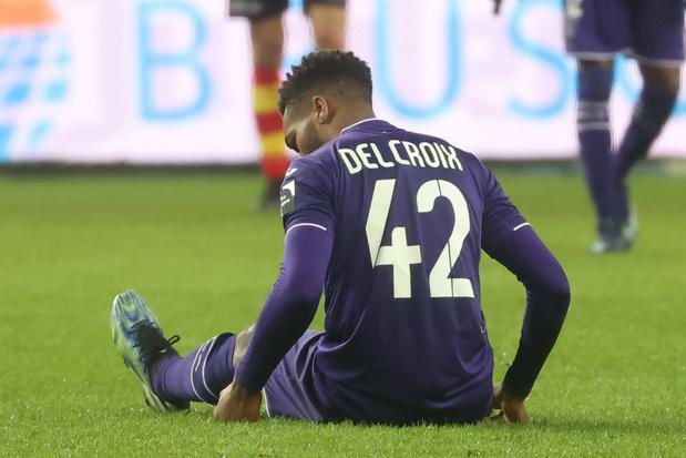 Tegenvaller voor Anderlecht: Hannes Delcroix out voor rest seizoen door knie-operatie