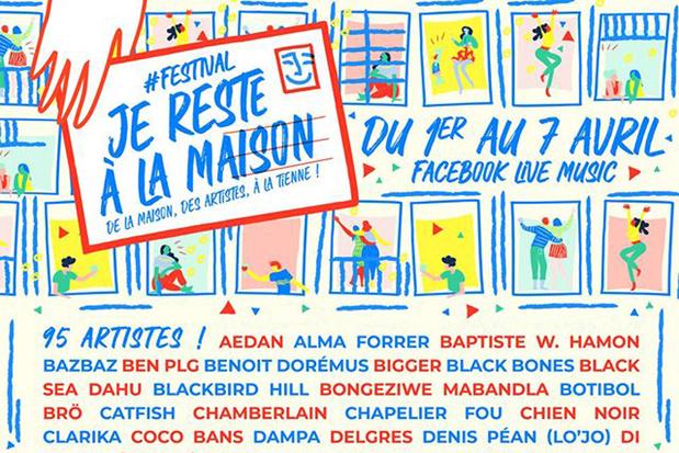 80 artistes à l'affiche du premier e-festival #JeResteALaMaison