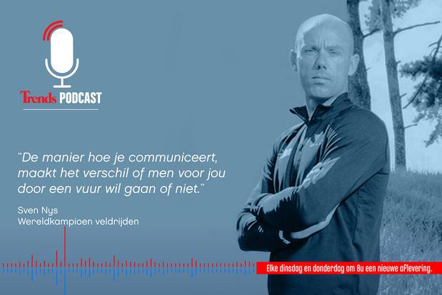 Trends Podcast met Sven Nys: 'Winnaars hebben een plan'