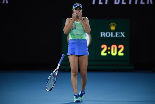 L'Américaine Sofia Kenin remporte l'Open d'Australie