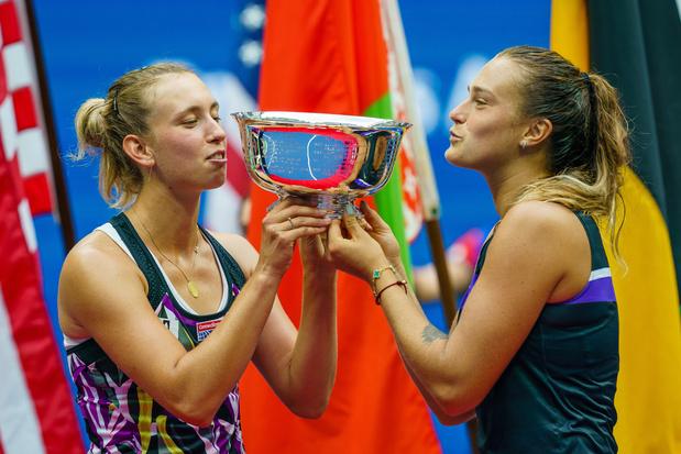 """Elise Mertens, après son triomphe en double: """"Gagner un Grand Chelem, c'est géant"""""""