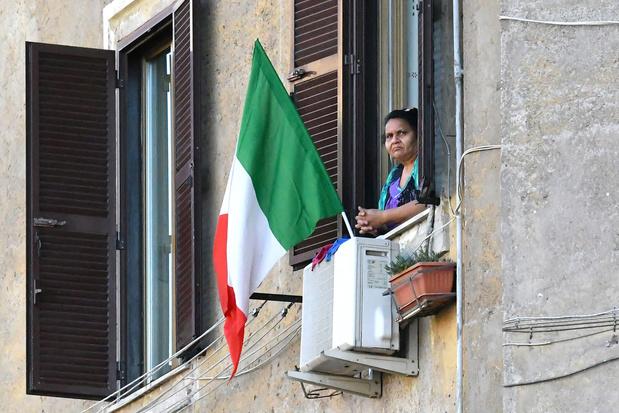 Italie: 174 morts en 24 heures, plus faible bilan depuis le premier jour du confinement
