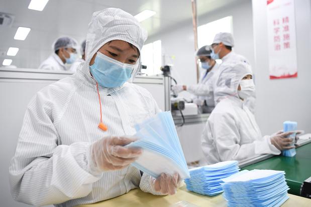 La Chine a exporté près de 4 milliards de masques depuis début mars