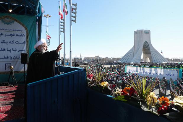 Iran: foule immense pour le 41e anniversaire de la révolution islamique