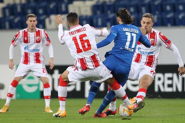 Rode Ster - KAA Gent: een derde keer België-Servië dit seizoen