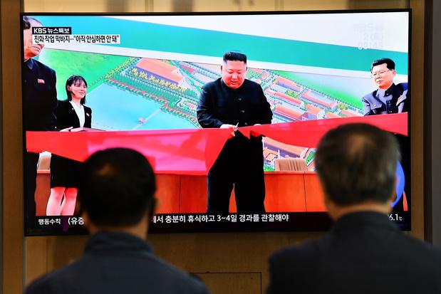 Kim Jong Un apparu en public après 20 jours d'absence