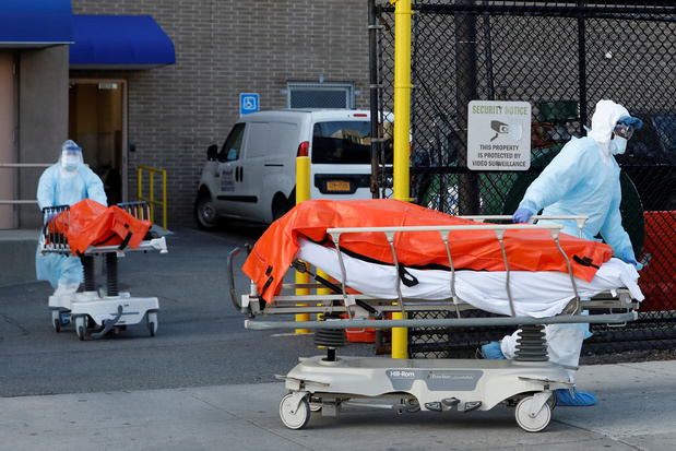 Coronavirus: 594 décès en 24h dans le seul Etat de New York