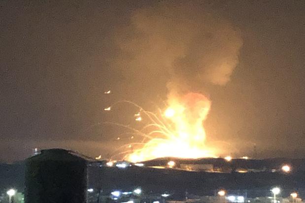 Jordanie: énorme explosion dans un dépôt militaire de munitions