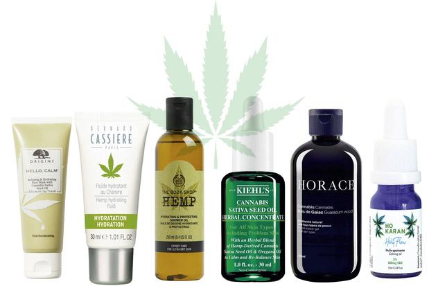 Le cannabis s'invite au rayon cosmétiques