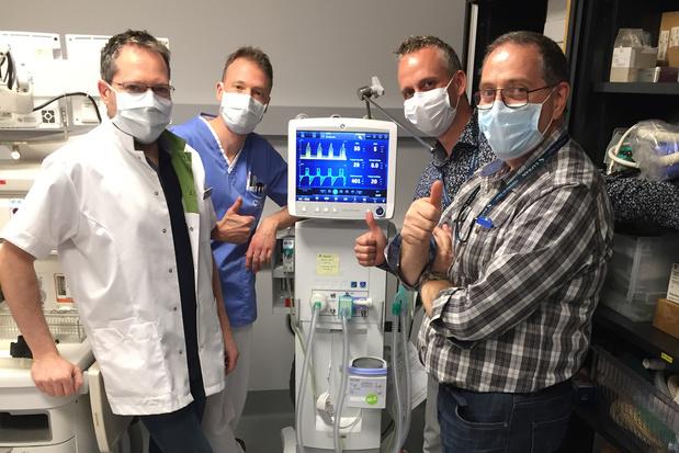 Safran Aero Boosters a cloné un débitmètre pour les respirateurs du MontLegia
