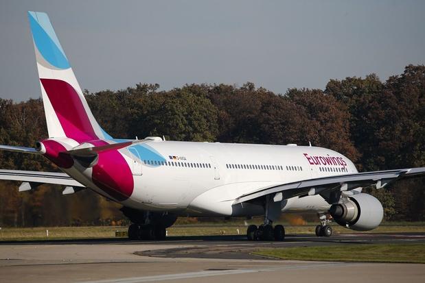 Forte hausse des réservations chez Eurowings