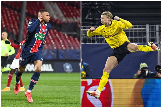 Kylian Mbappé vs Erling Haaland: c'est qui le patron ?