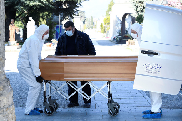 Coronavirus: 683 nouveaux décès en Italie, mais les contaminations encore en baisse