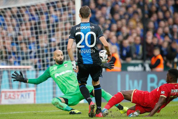 Le Club de Bruges émerge contre l'Antwerp grâce un goal tardif et discuté de Vanaken