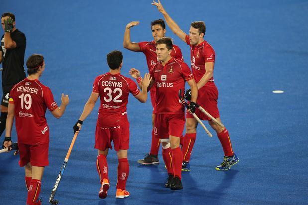 Hockey Pro League: Les Red Lions dominent la Nouvelle-Zélande 6-2