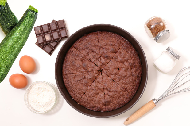 La recette du Gâteau au chocolat aux courgettes (et sans beurre)