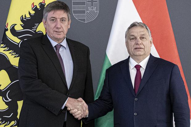 Jan Jambon chez Viktor Orban pour s'entretenir des relations commerciales en Flandre et Hongrie