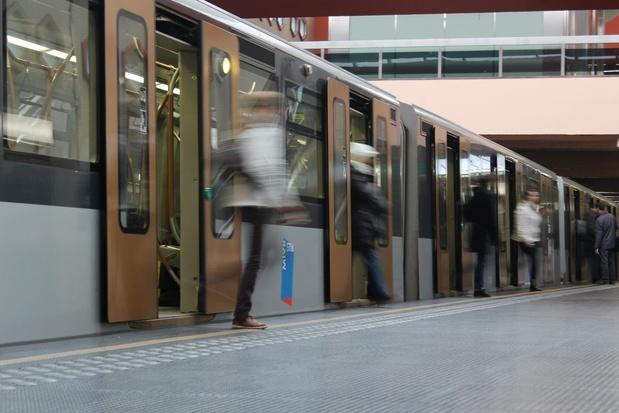 Bruxelles: un métro toutes les deux minutes sur les lignes 1 et 5 à partir de 2023