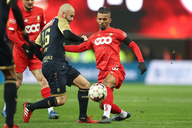 Jupiler Pro League: Le Standard s'impose 1-0 sur l'Antwerp