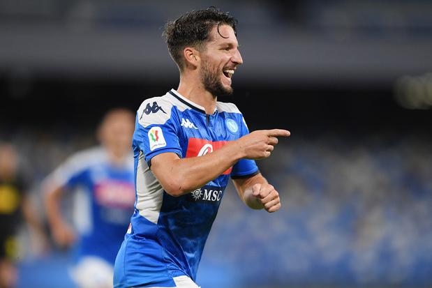 Dries Mertens devient le meilleur buteur de l'histoire de Naples
