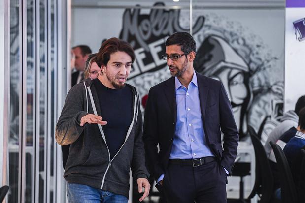 Google : la vraie raison de la visite de Sundar Pichai à Bruxelles