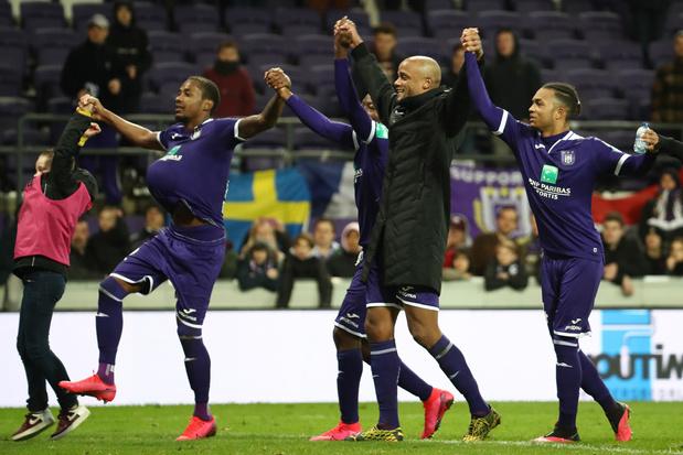 Jupiler Pro League: Anderlecht inflige une correction à Eupen