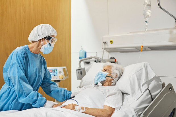 Situation du covid en Belgique : une soixantaine d'admissions à l'hôpital par jour