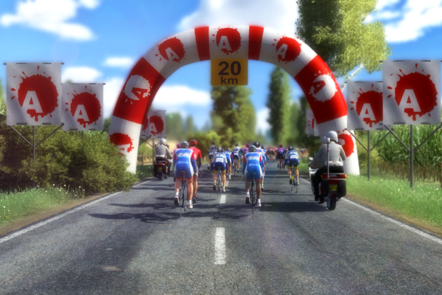 Pro Cycling Manager: kruip eens in de virtuele volgwagen