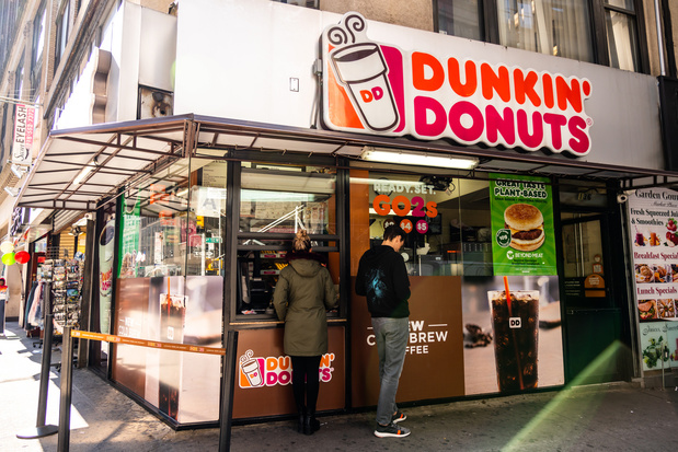 La chaîne américaine Dunkin' Donuts débarque en Belgique