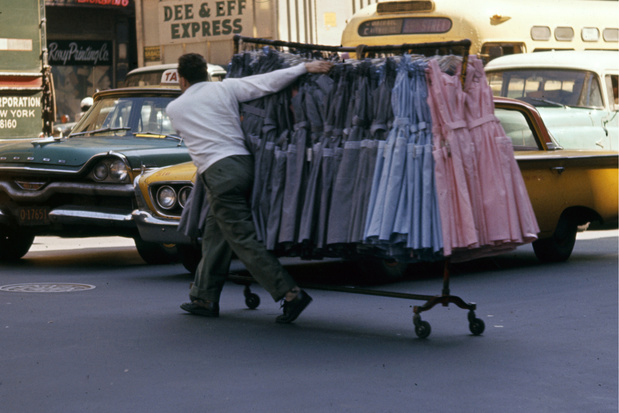 Le mythique Garment District, poumon new-yorkais du textile, en voie de disparition