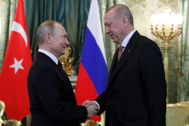 """Poutine et Erdogan discutent des S-400 et d'""""autres projets prometteurs"""""""