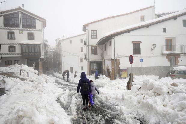 Le bilan de la tempête Gloria monte à onze morts en Espagne