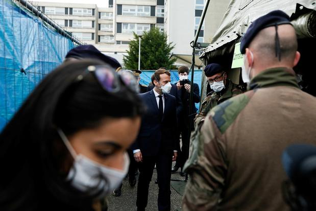 """En France, Macron lance une opération militaire """"pour aider la population contre l'épidémie de coronavirus"""""""