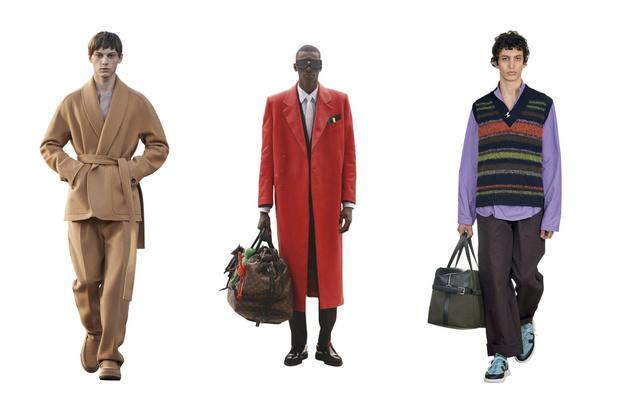 Mode   Jupe, tricot, oversized: des tendances optimistes pour l'Homme cette saison