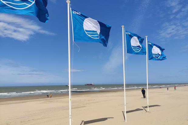 """Cote belge: 27 plages labellisées """"Blue Flag"""""""
