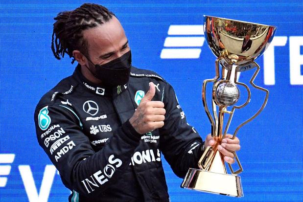 Hamilton boekt 100e GP-zege en is opnieuw WK-leider