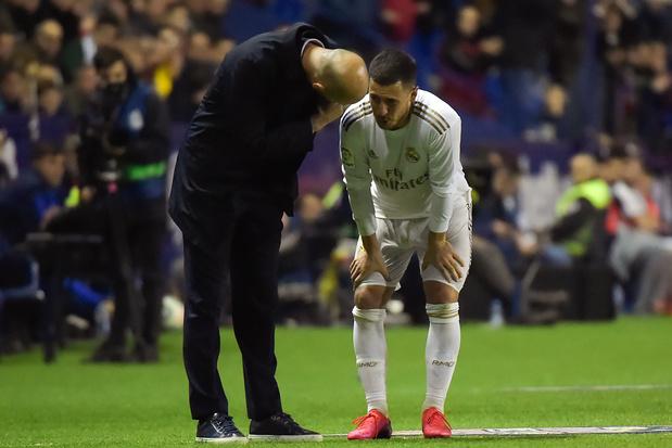 Eden Hazard souffre d'une fêlure du péroné droit