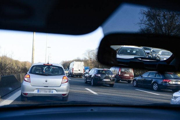 Jusqu'à 2h30 de retard sur l'E40 en direction de Gand après un accident