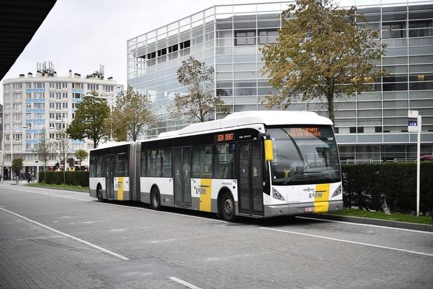 Amende salée pour De Lijn, qui fait rouler des bus polluants à Bruxelles
