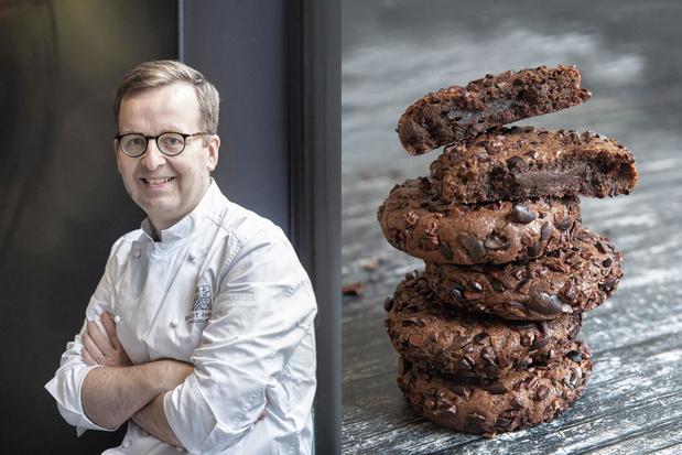 La recette des Cookies de chocolat au coeur fondant de Benoit Nihant, aventurier du chocolat